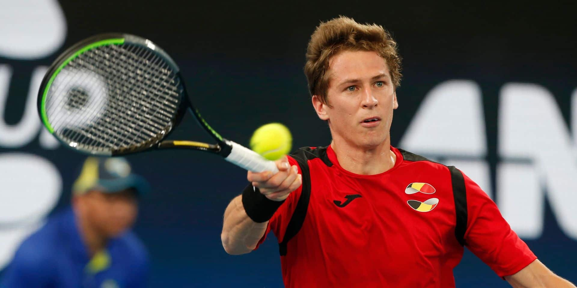 ATP Cup: Darcis laisse sa place à Coppejans qui s'incline face à Bautista Agut, la Belgique menée...