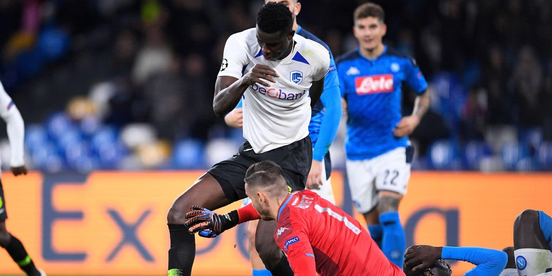 Genk sombre face à Naples et sort par la petite porte de la Ligue des Champions (4-0)