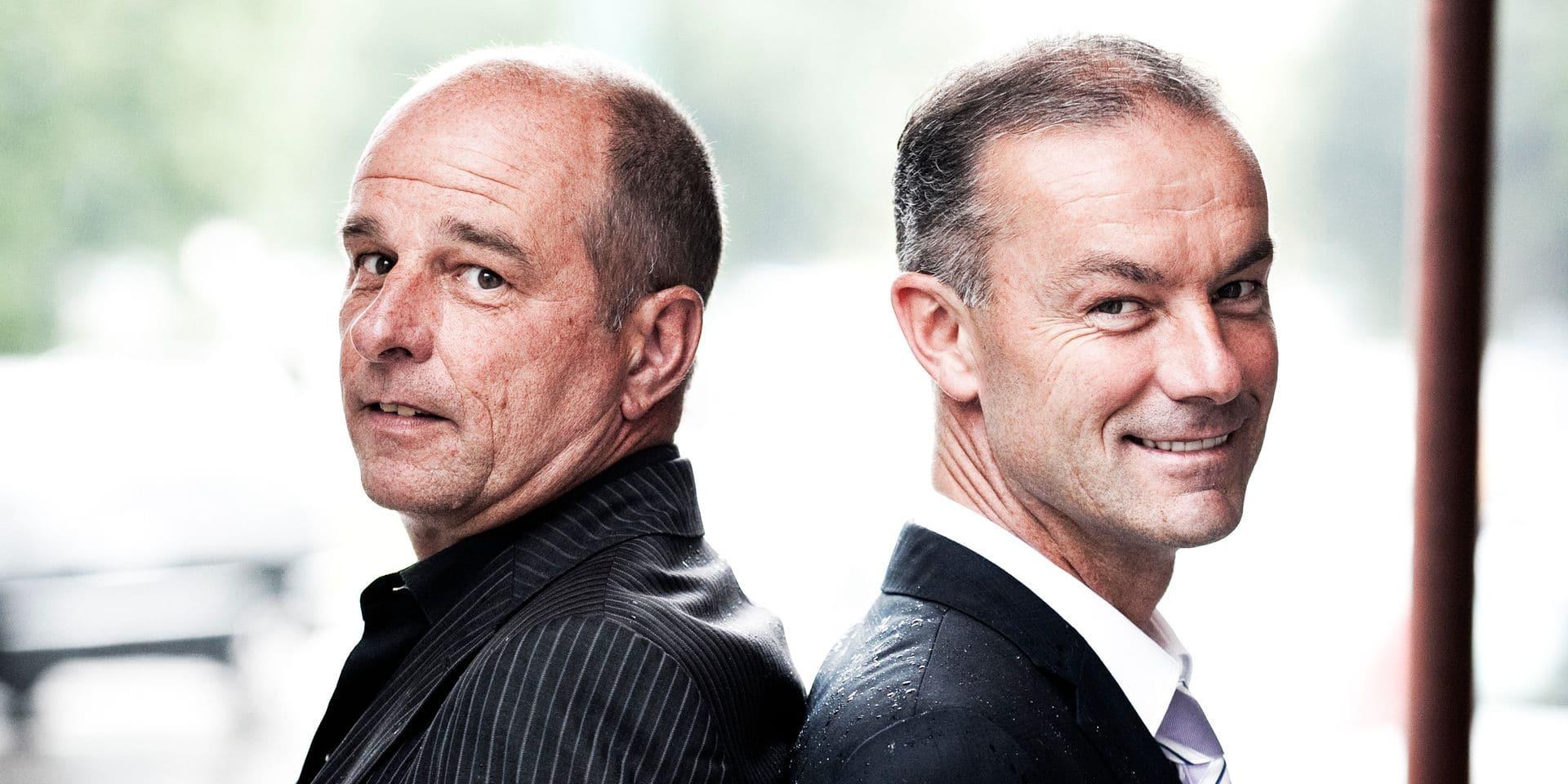 BELGIUM - RSC Anderlecht Trainers Kindermans & Gyselinckx