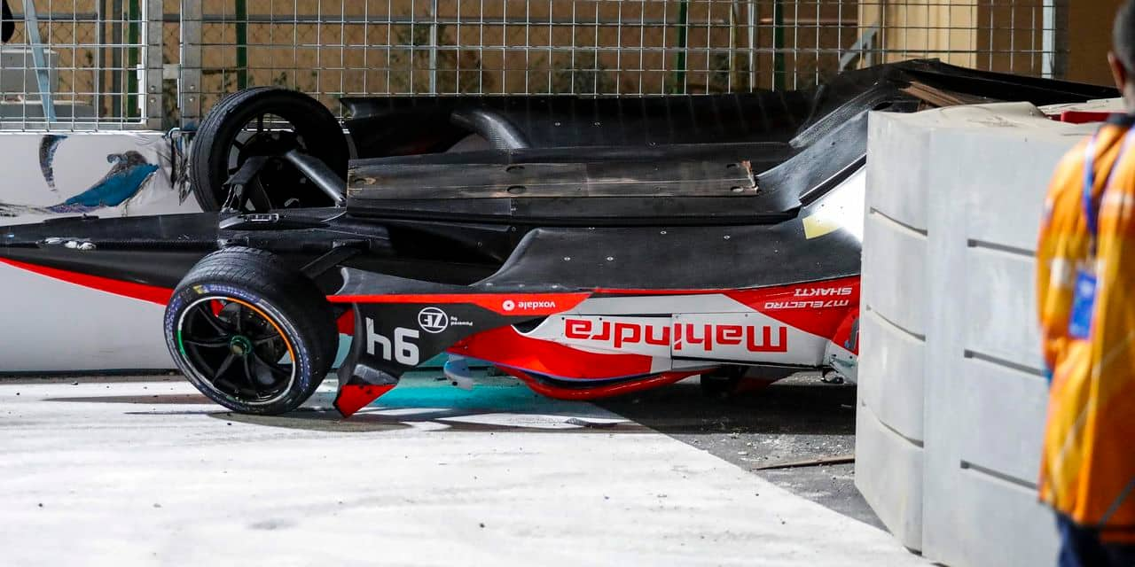 Le crash de Lynn raconté par Evans :