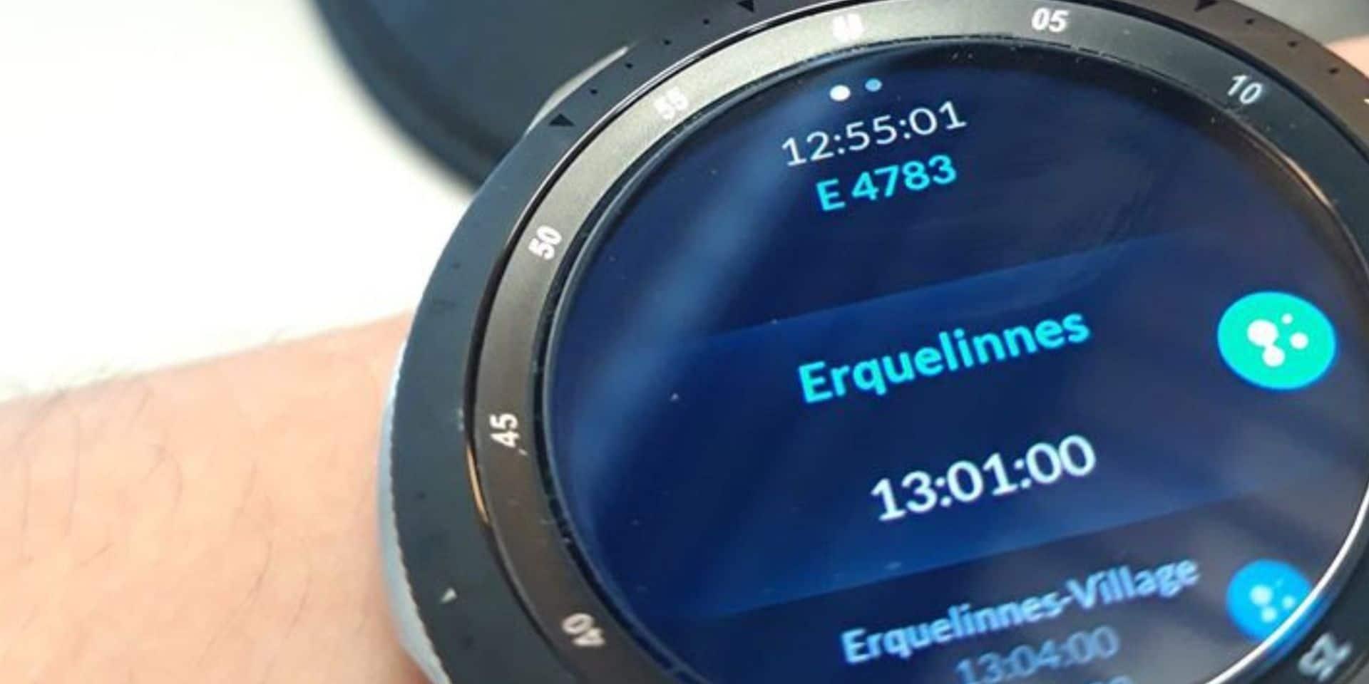 """Montres connectées et smartphones: les accompagnateurs de trains vont """"swiper"""" pour donner le départ"""