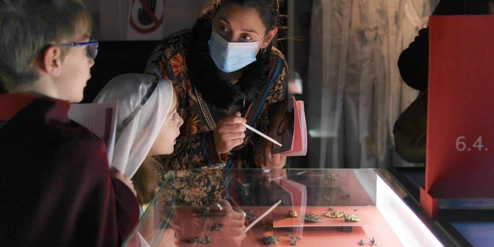 Mons: L'expo consacrée à Sainte-Waudru joue les prolongations à l'Artothèque