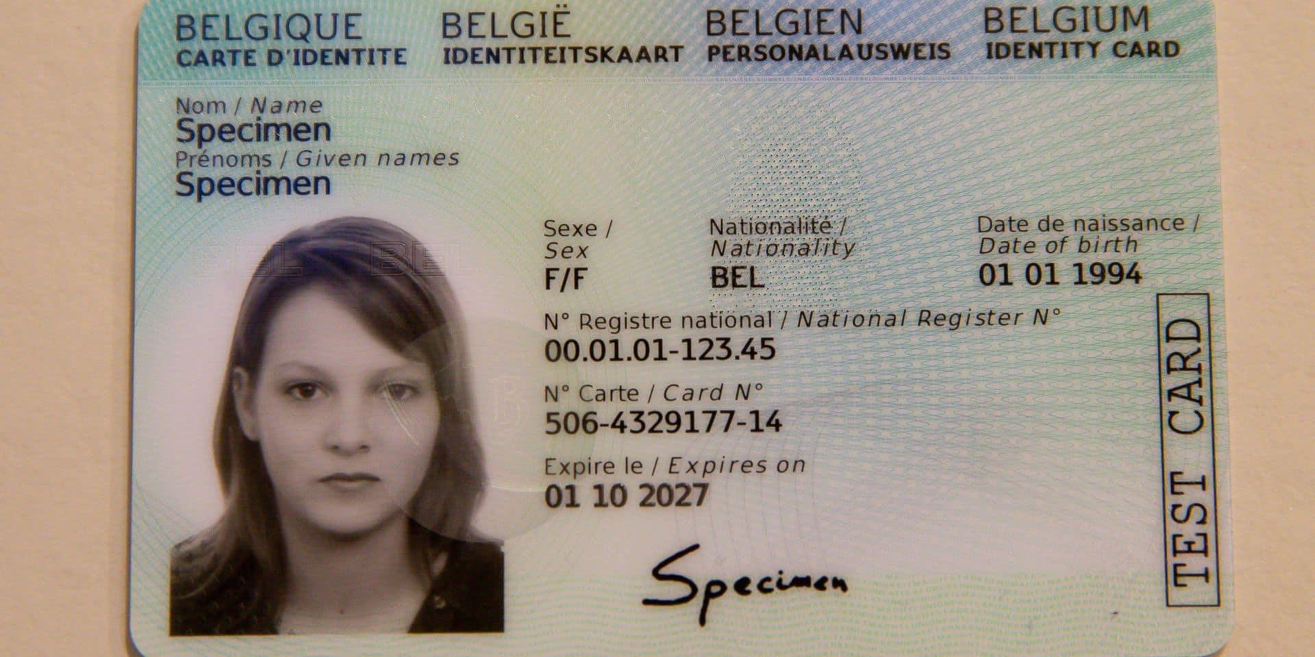 Les Nouvelles Cartes D Identite Seront Desormais Livrees Dans Toute La Belgique Dh Les Sports