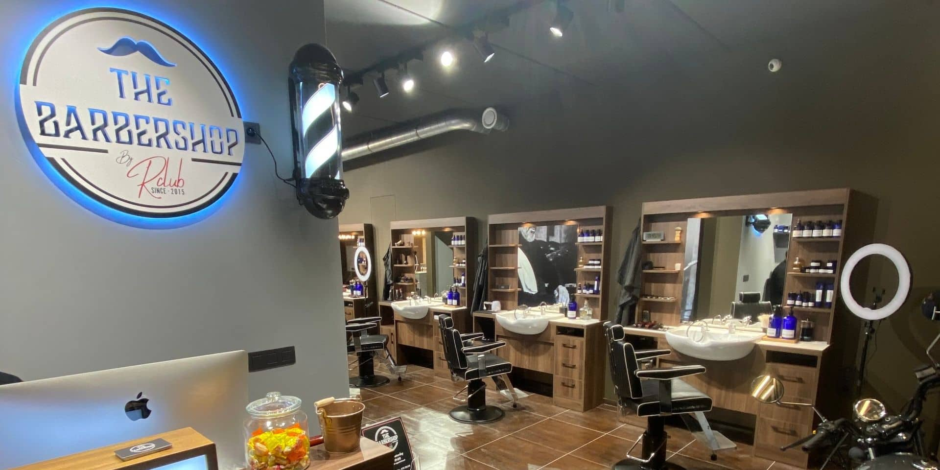 Un barbershop pas comme les autres ouvre ses portes en grandes pompes à Zellik