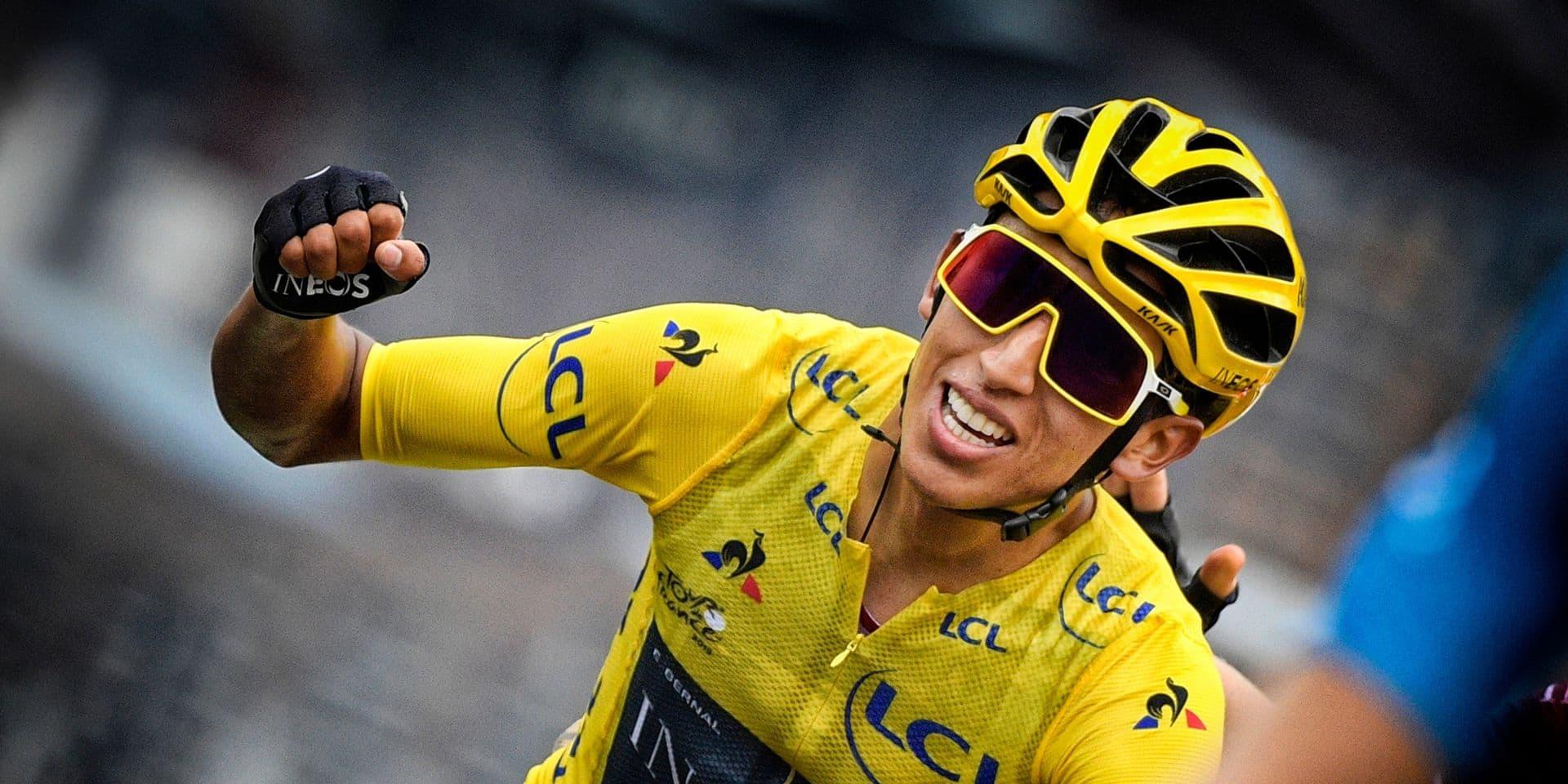 Egan Bernal veut gagner les trois Grands Tours dans les années à venir