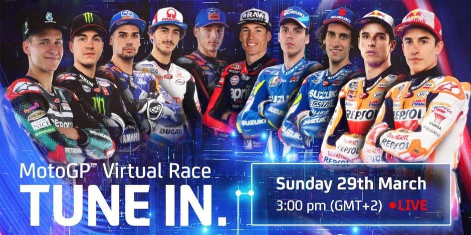 Le MotoGP lance sa course virtuelle