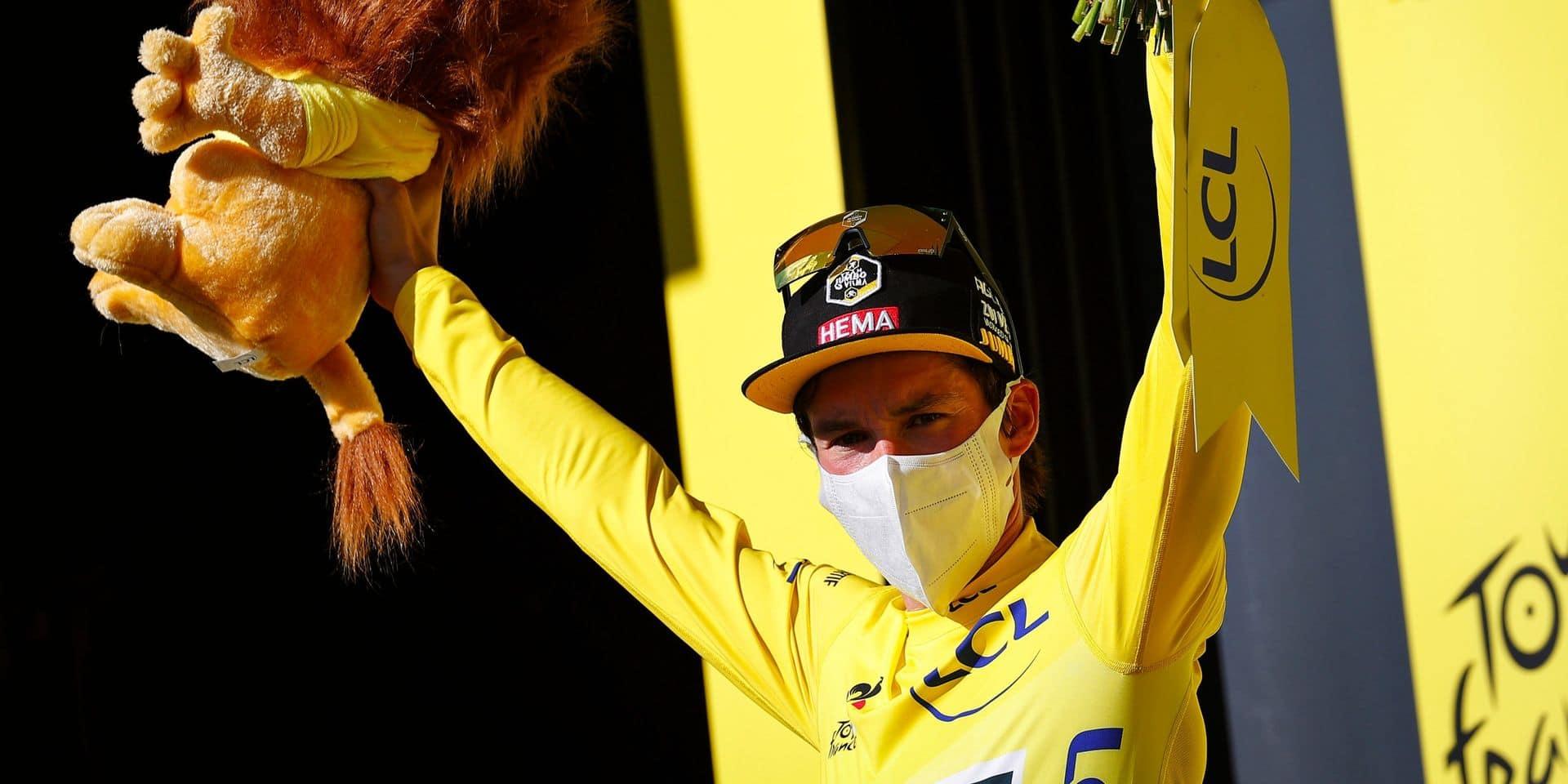 """Primoz Roglic toujours en jaune: """"Il y aura certainement une grosse bagarre demain"""""""
