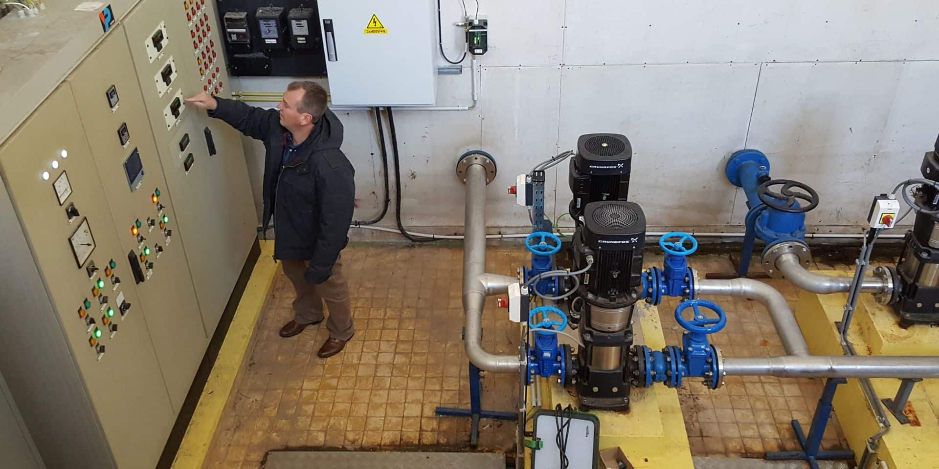 Perwez propose une réduction sur la facture d'eau à ses habitants touchés par la crise