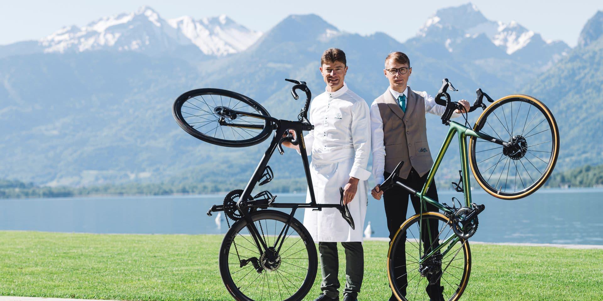 """""""Le vélo et le vin ont de nombreux points communs"""""""