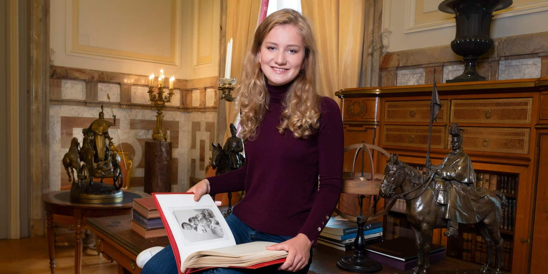 Voici les photos de la princesse Elisabeth à l'occasion de ses 18 ans