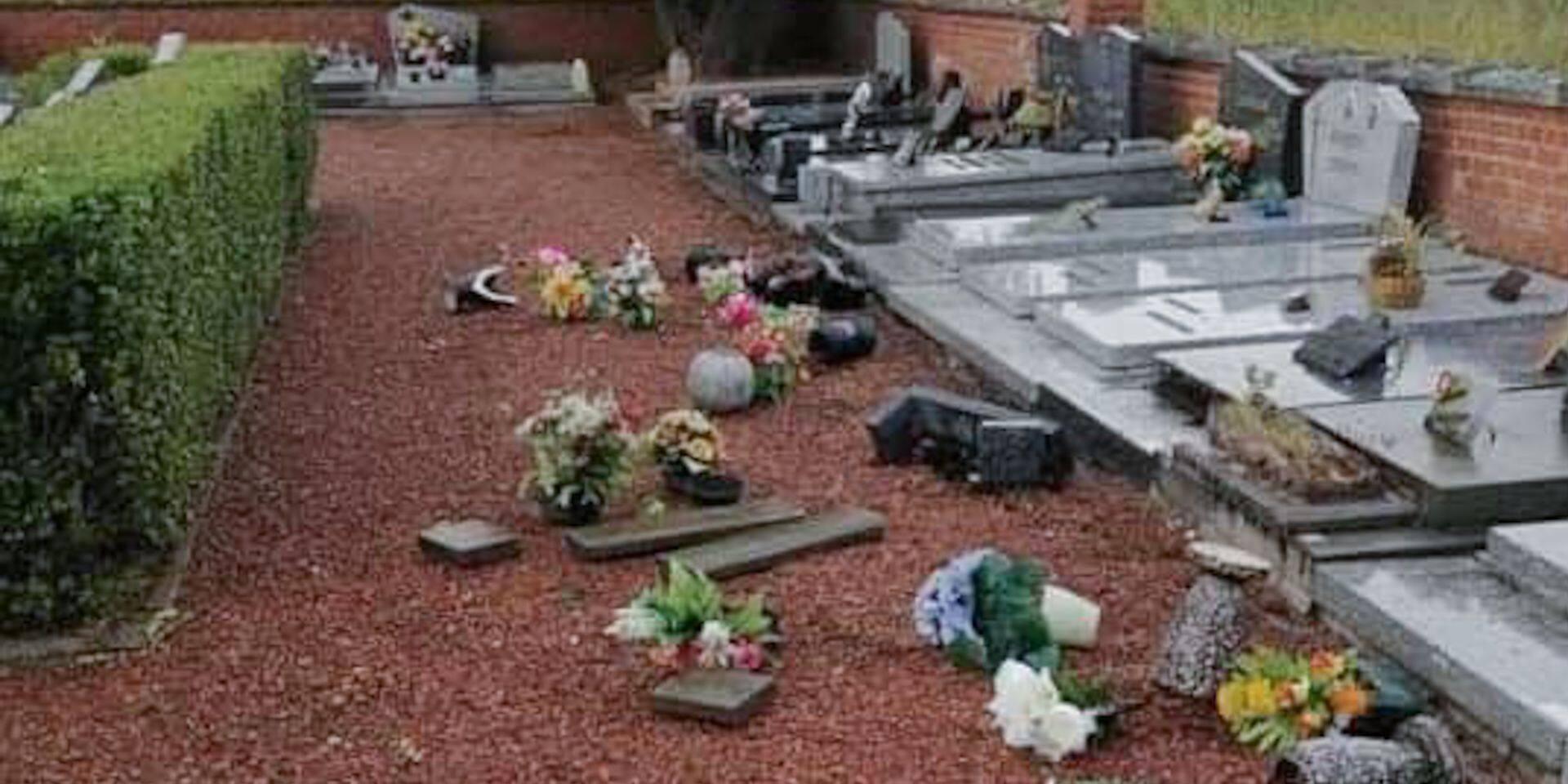 Ath : le cimetière de Maffle vandalisé !