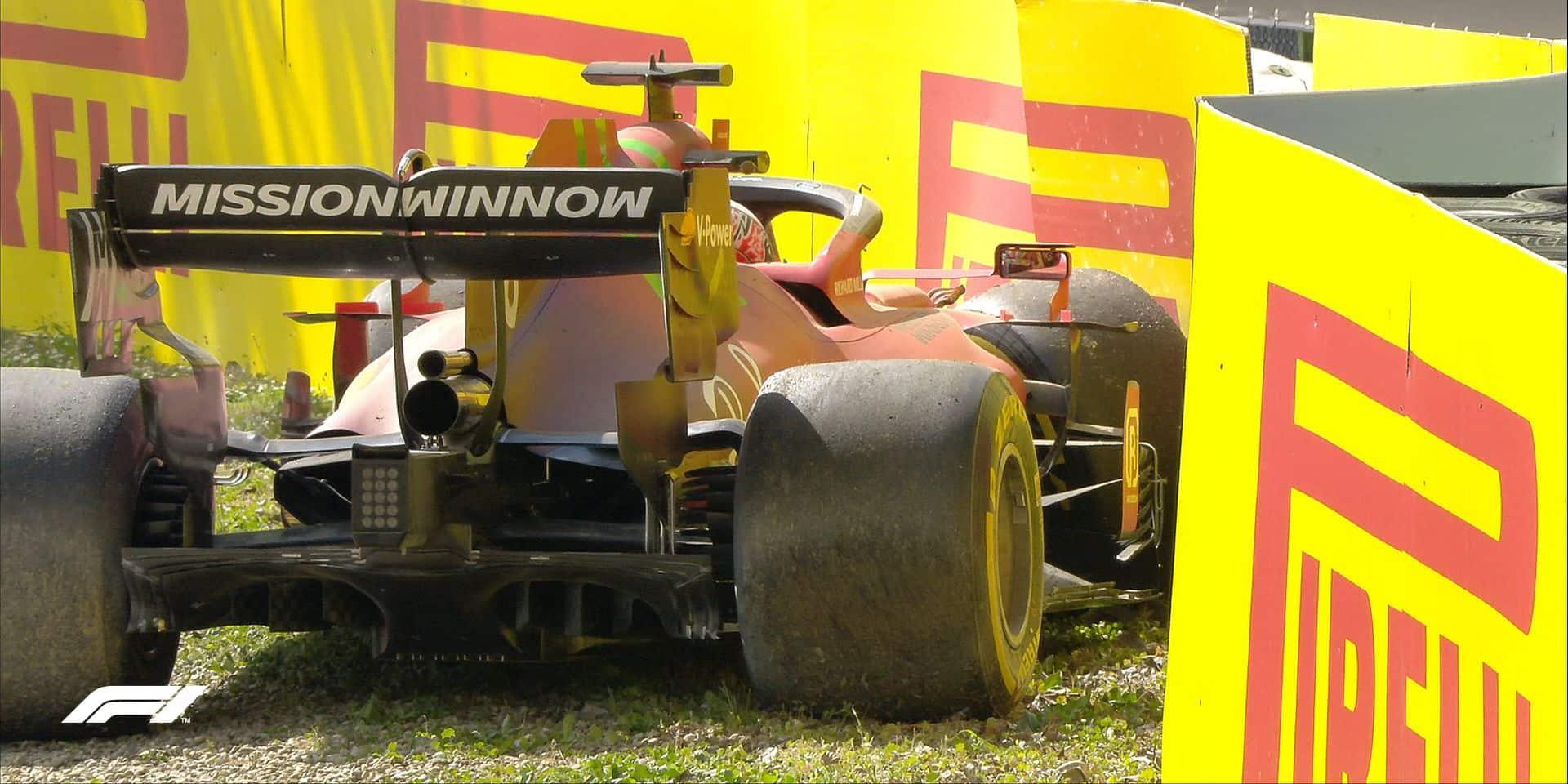 GP d'Emilie-Romagne (Libres 2): nouveau doublé Mercedes, Verstappen et Leclerc à l'arrêt