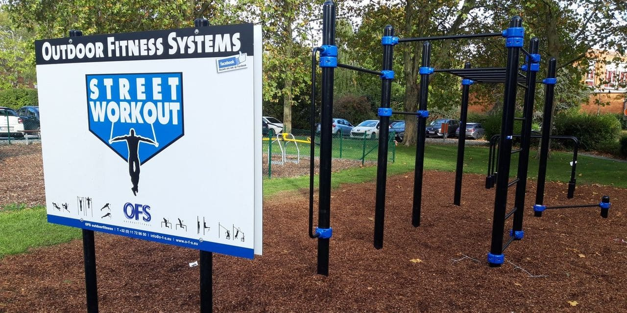 Le street workout s'installe à Soignies