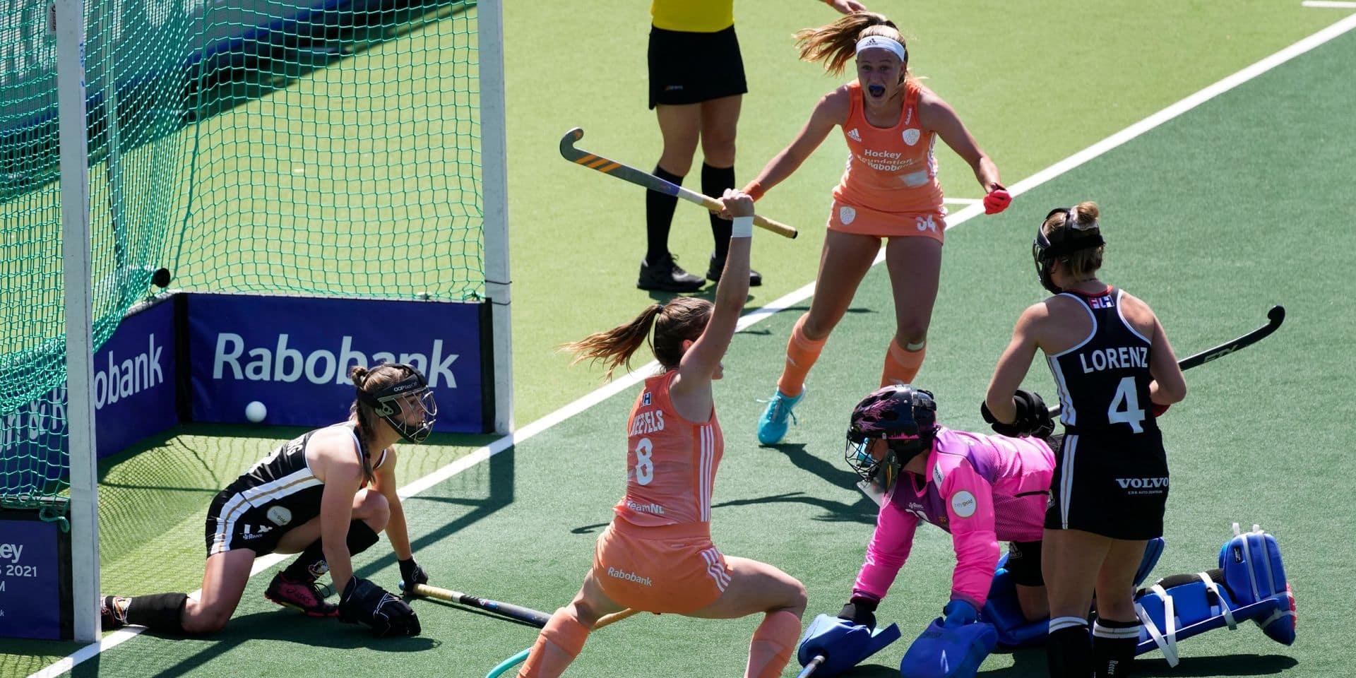 Euro de hockey: 11e titre continental féminin pour les Pays-Bas, vainqueurs 2-0 de l'Allemagne en finale