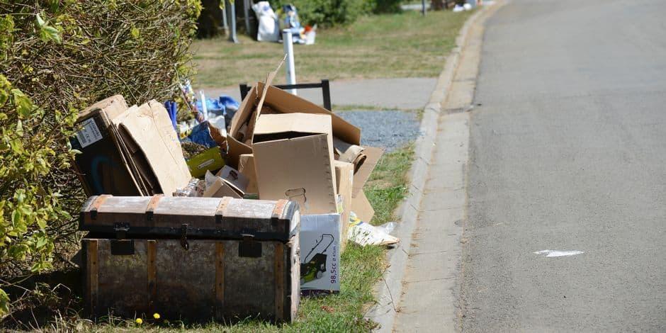 La collecte des papiers et cartons reportée d'un jour dans certaines sections de Namur