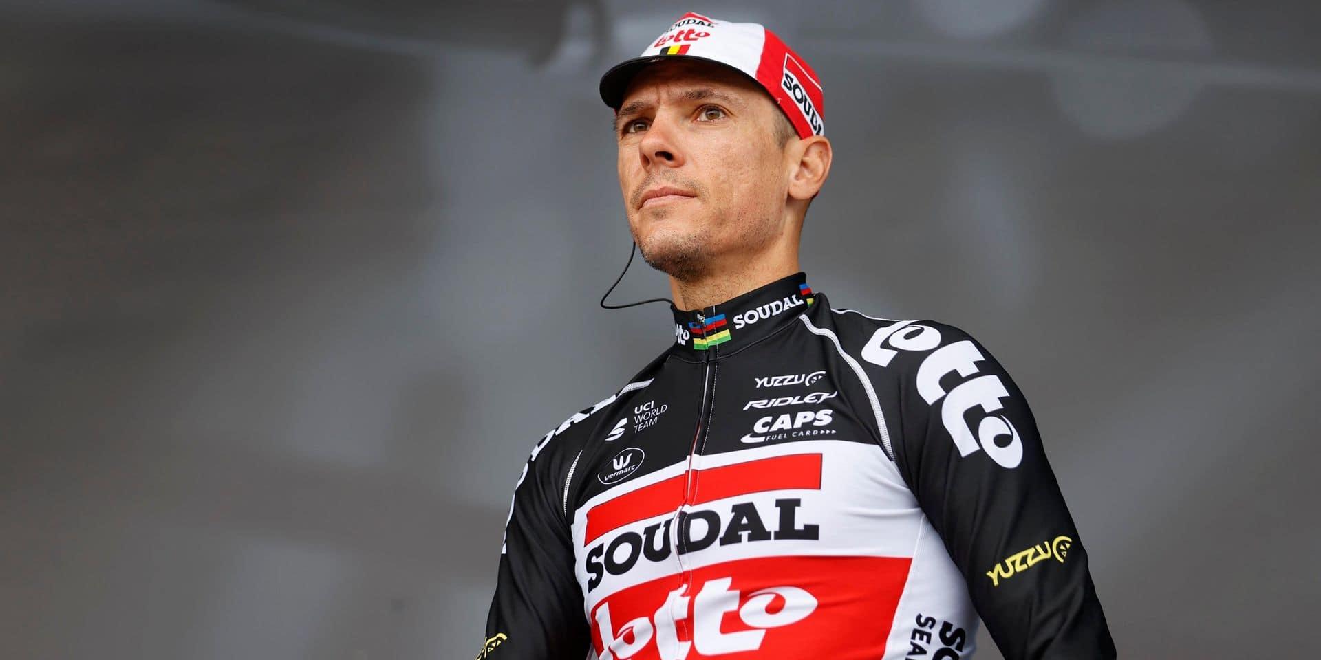 Philippe Gilbert dévoile son programme, des Strade Bianche à Paris-Roubaix