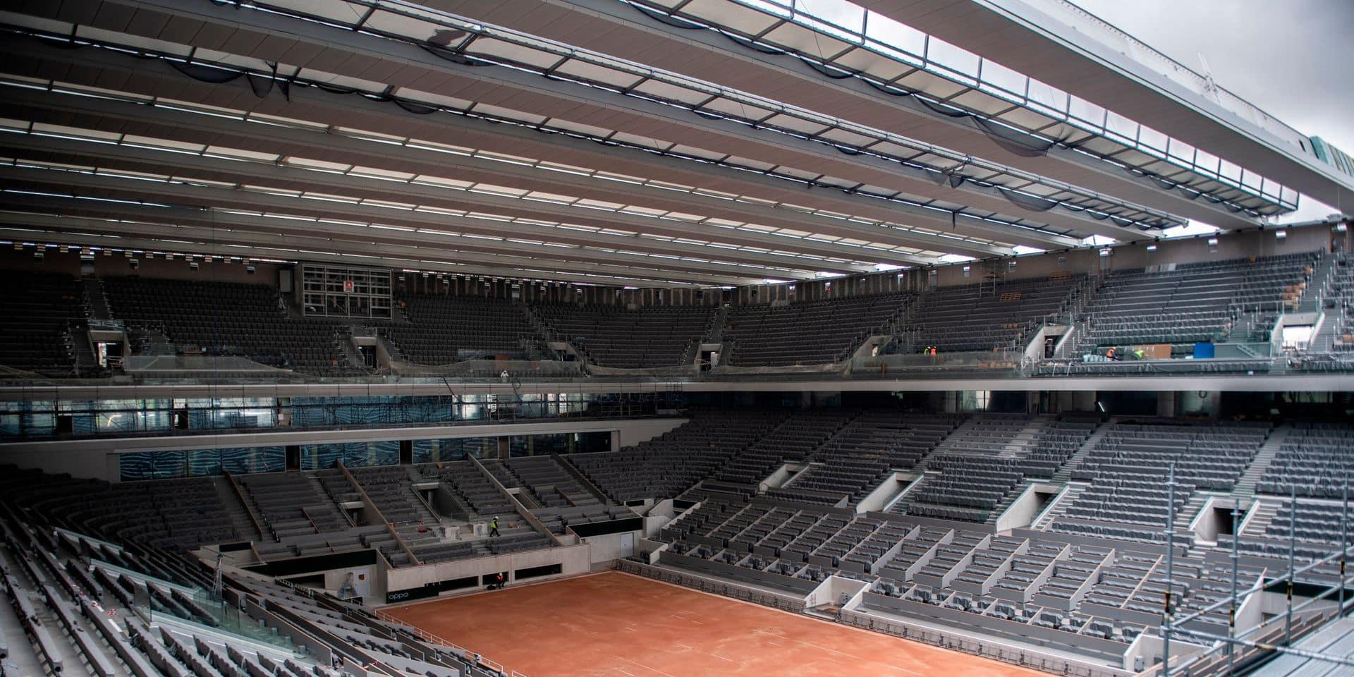 Roland-Garros: jauge réduite de 20.000 à 11.500 spectateurs par jour