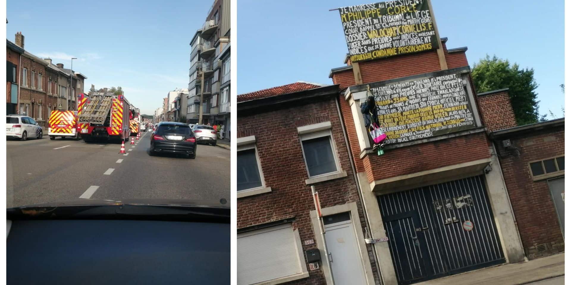 Suicidaire à Grivegnée: l'homme a été pris en charge!