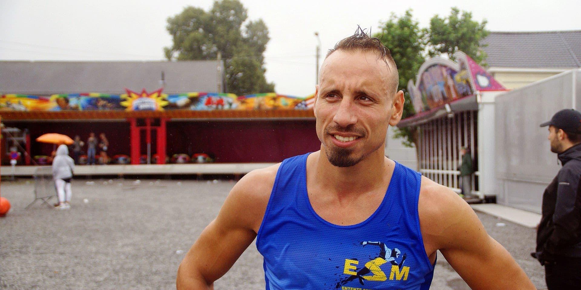 Nicolas Critelli, des rings à la course à pied