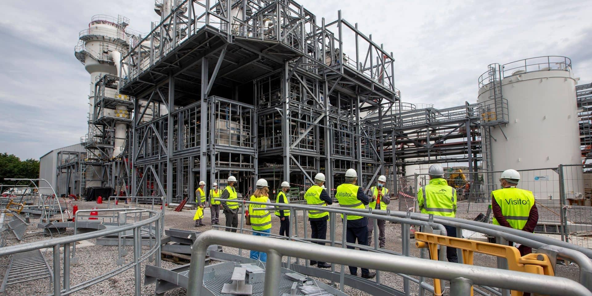 Les travailleurs d'ArcelorMittal Gand ont repris le travail