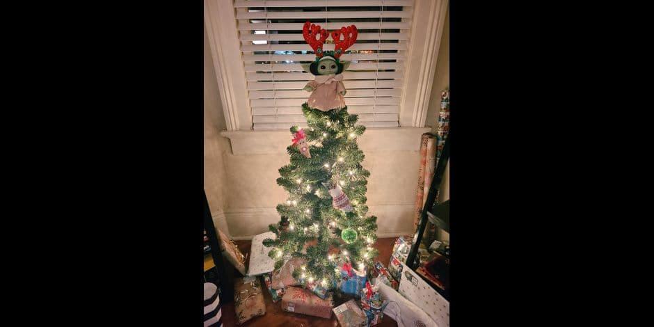 Baby Yoda, l'étoile de Noël: la nouvelle tendance sur les réseaux sociaux