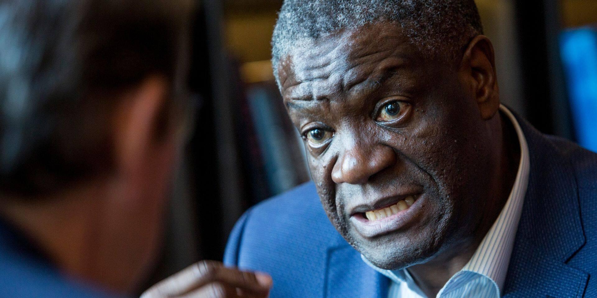 Vaste mouvement de soutien suite aux menaces envers le Dr Mukwege, prix Nobel de la paix 2018