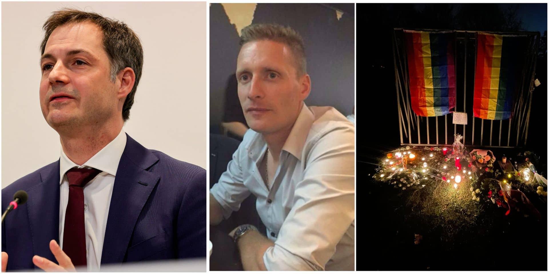 """""""Chacun dans notre pays est unique et peut aimer qui il veut"""": Alexander De Croo appelle à combattre l'intolérance depuis Beveren"""
