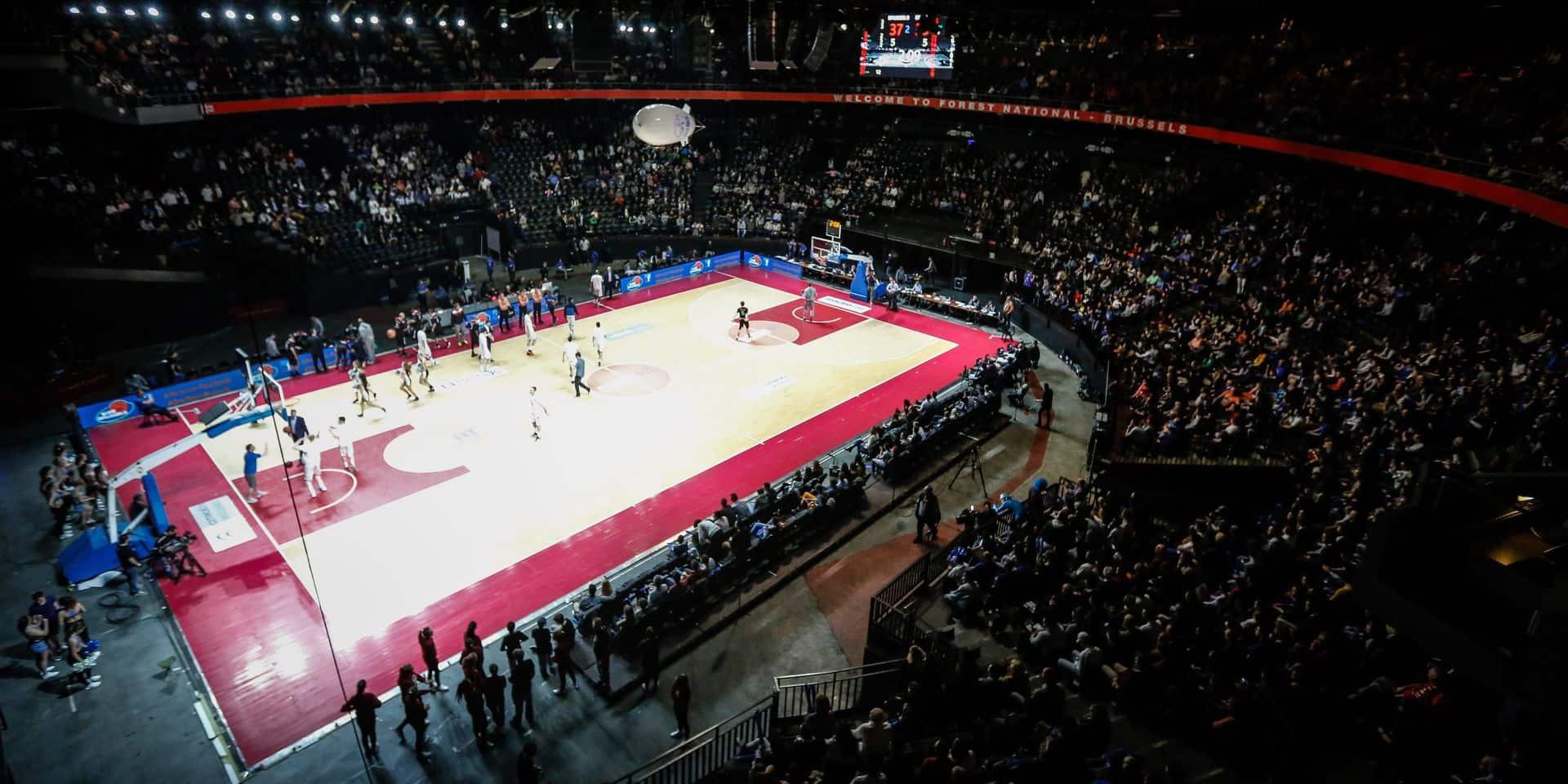 Basket 22 J Brussels-Spirou