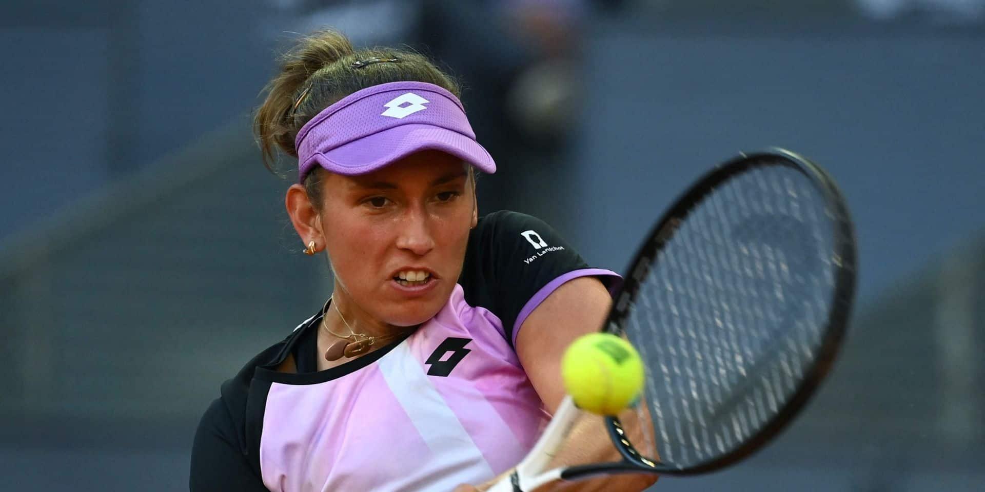 WTA Rome: Elise Mertens retrouve la Russe Veronika Kudermetova, 28e mondiale, au premier tour