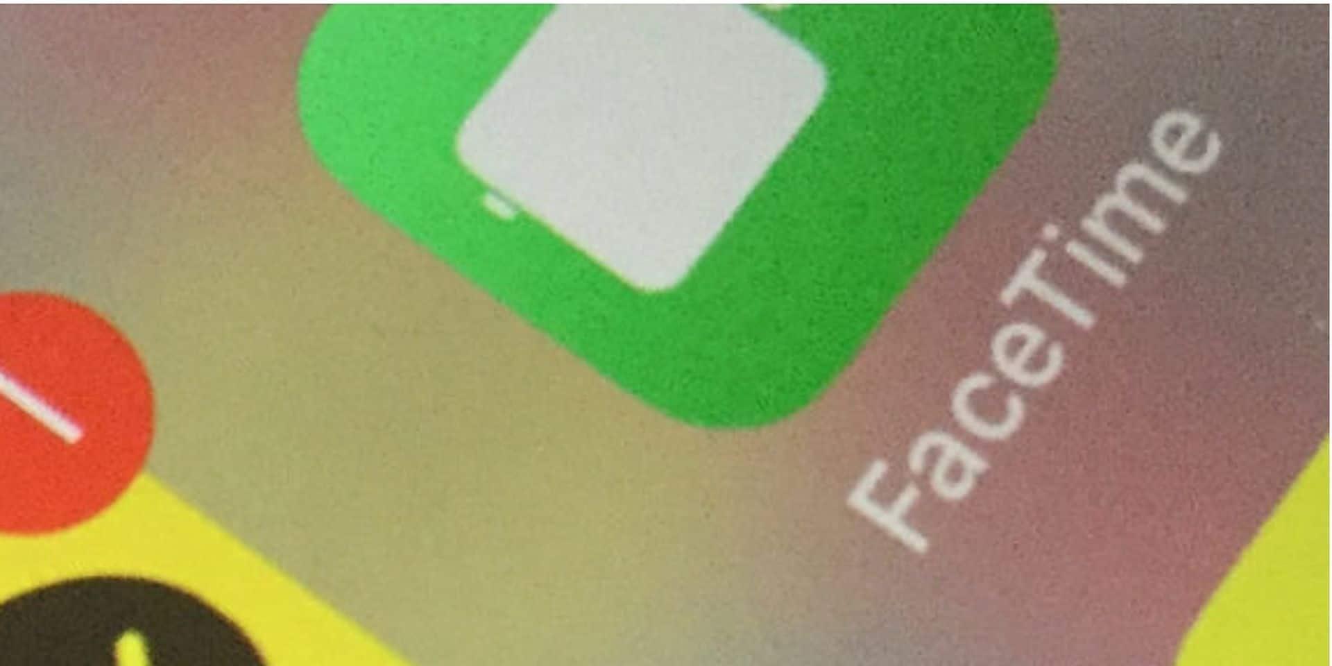 Une importante faille de sécurité découverte sur FaceTime