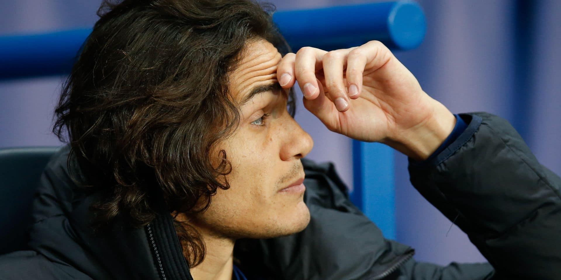 Edinson Cavani futur coéquipier d'Eden Hazard et Thibaut Courtois ?