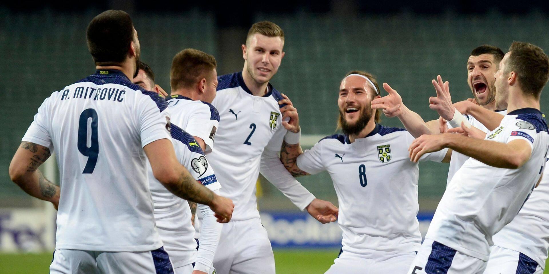 Qualifications au Mondial 2022: la Serbie et Chypre premiers vainqueurs de la soirée