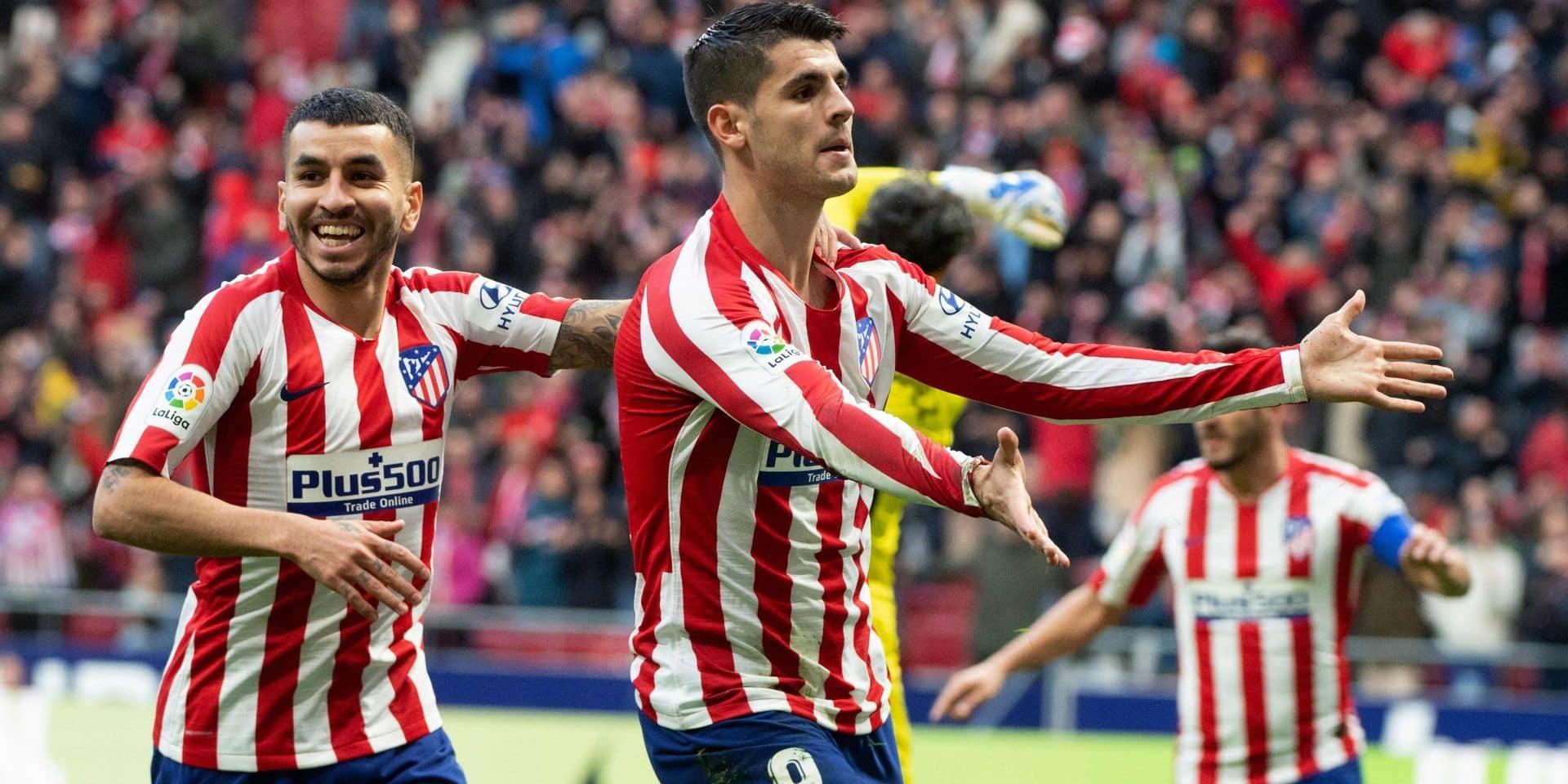 Liga: Morata et l'Atlético domptent l'Espanyol et passent troisièmes