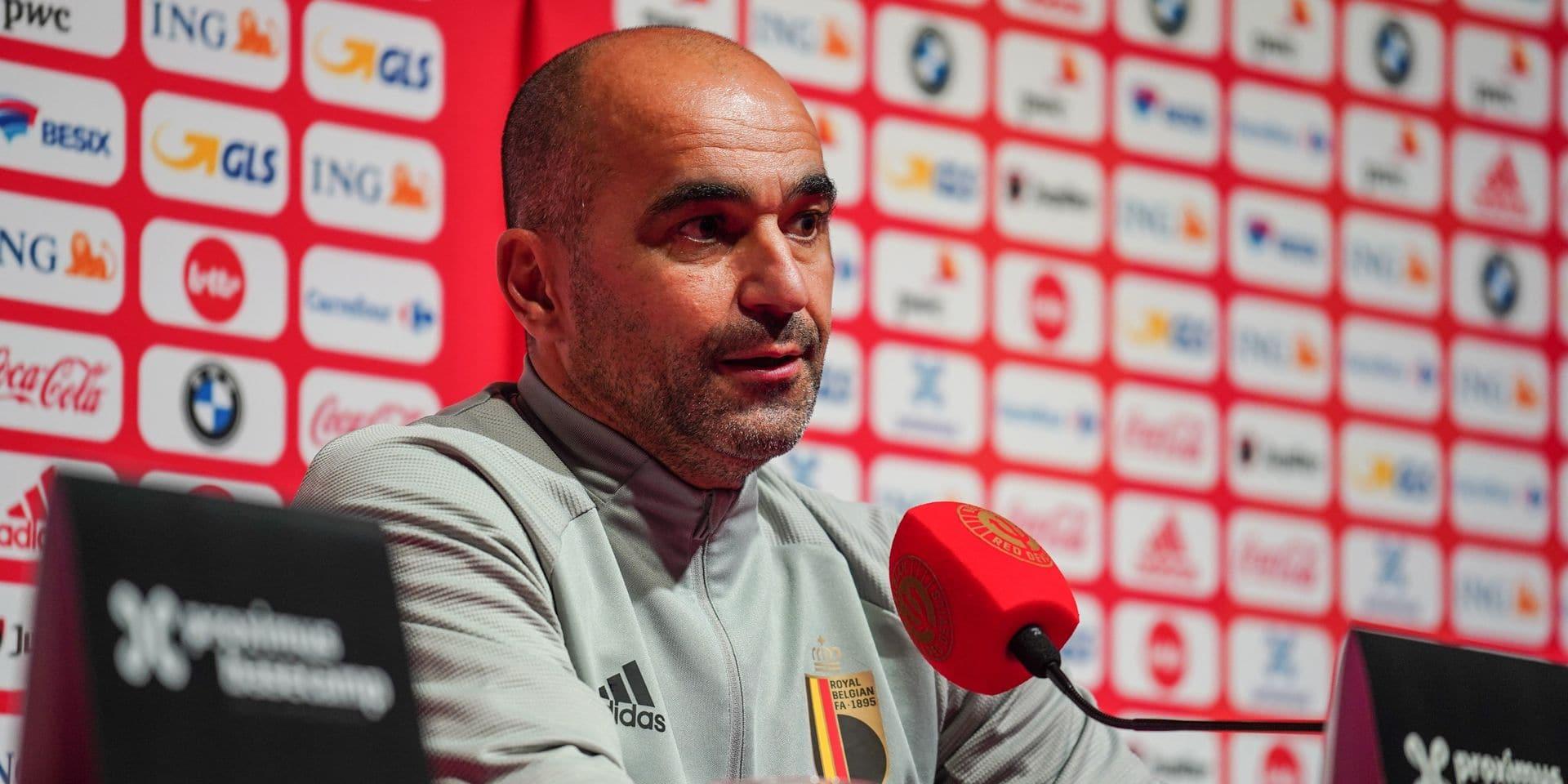 """Roberto Martinez prêt à préparer l'Euro avec des matches à enjeux: """"L'équipe a bien réagi aux absences"""""""
