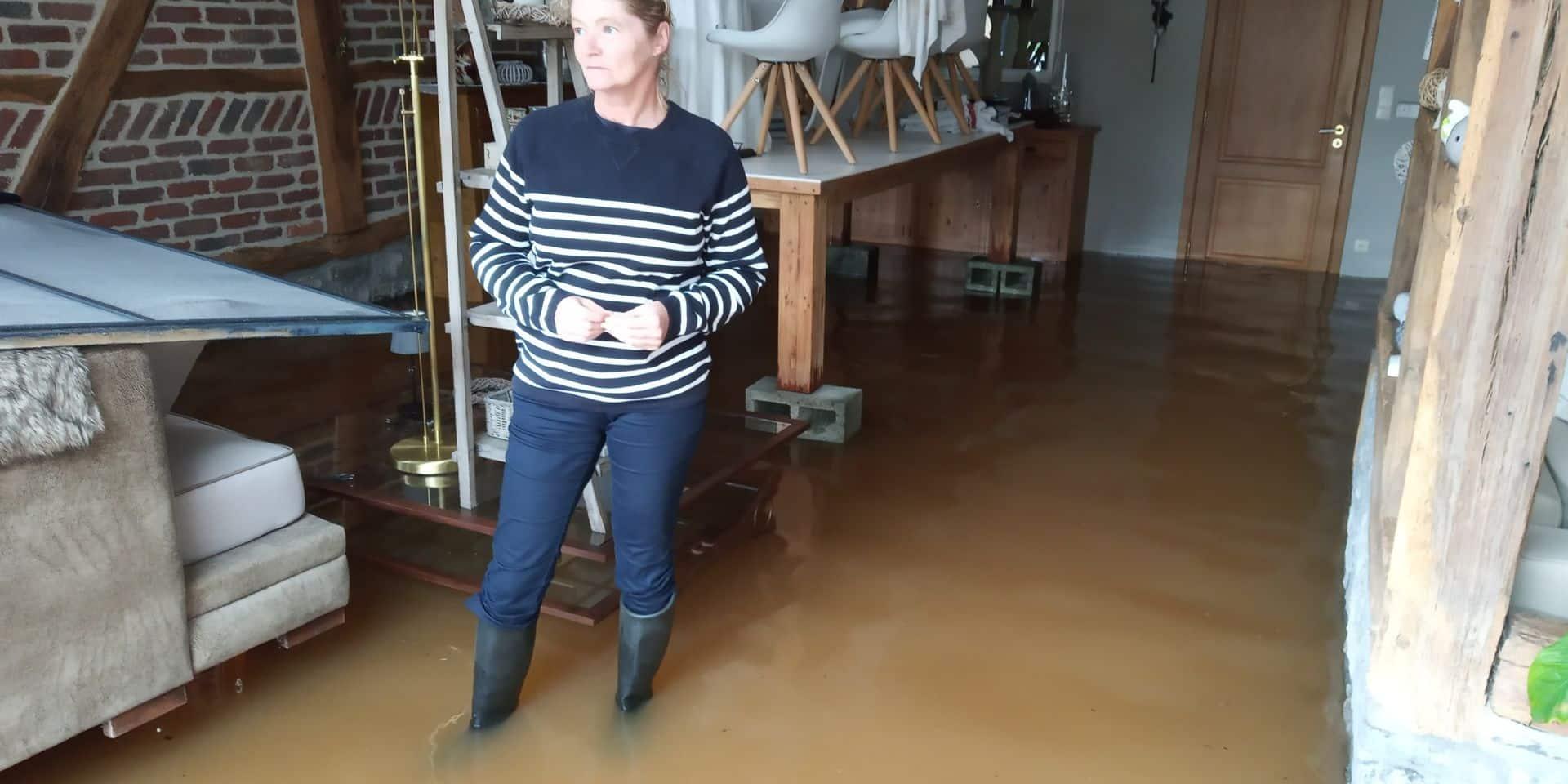 Barvaux : l'eau s'invite dans les maisons