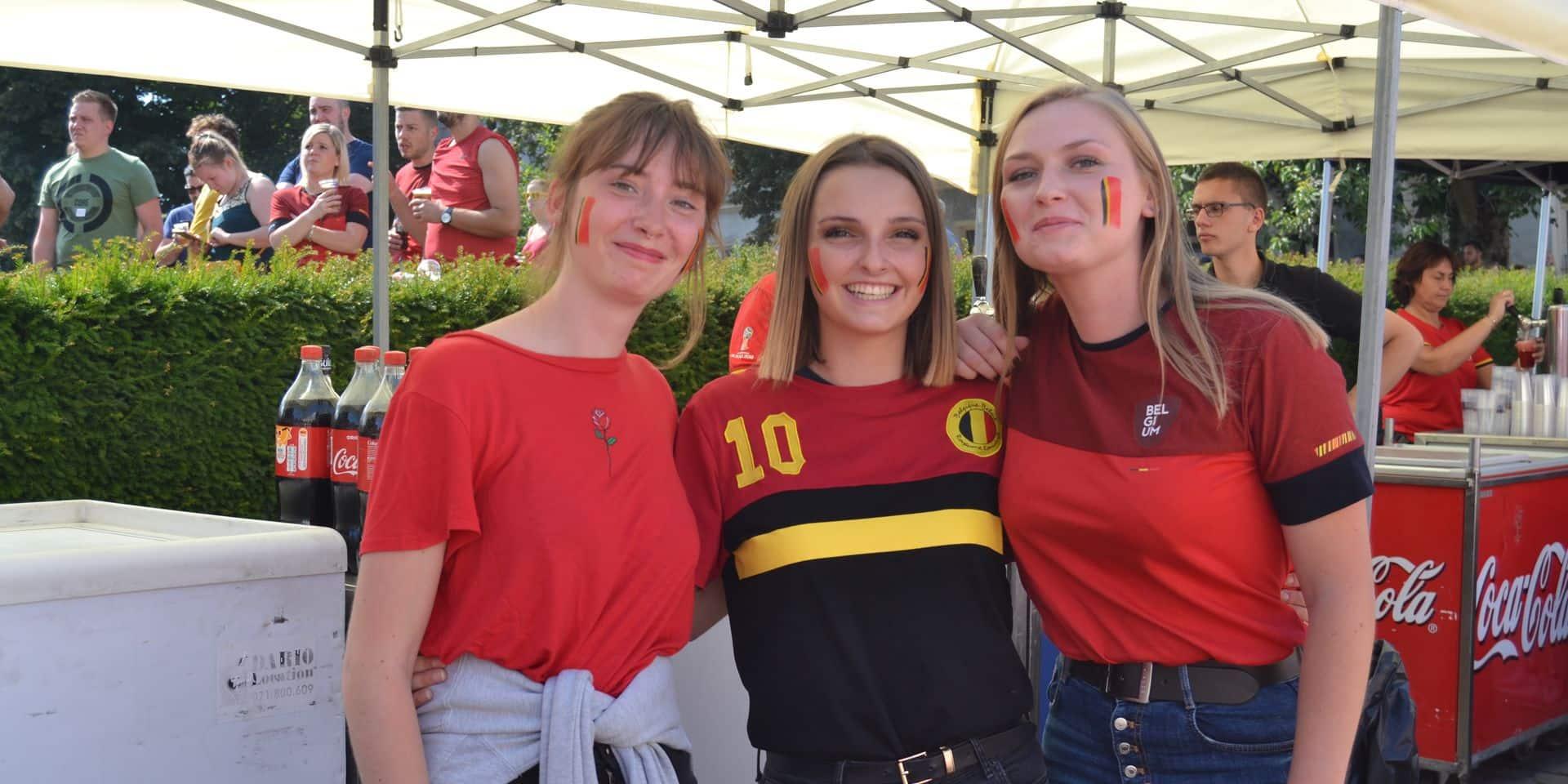 Tournai : la place Reine Astrid a vibré pour le dernier match des Diables Rouges en Russie !