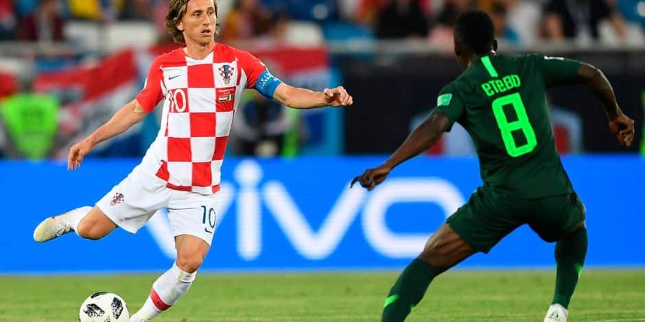 Le penalty tout en sérénité de Luka Modric contre le Nigeria — Vidéo