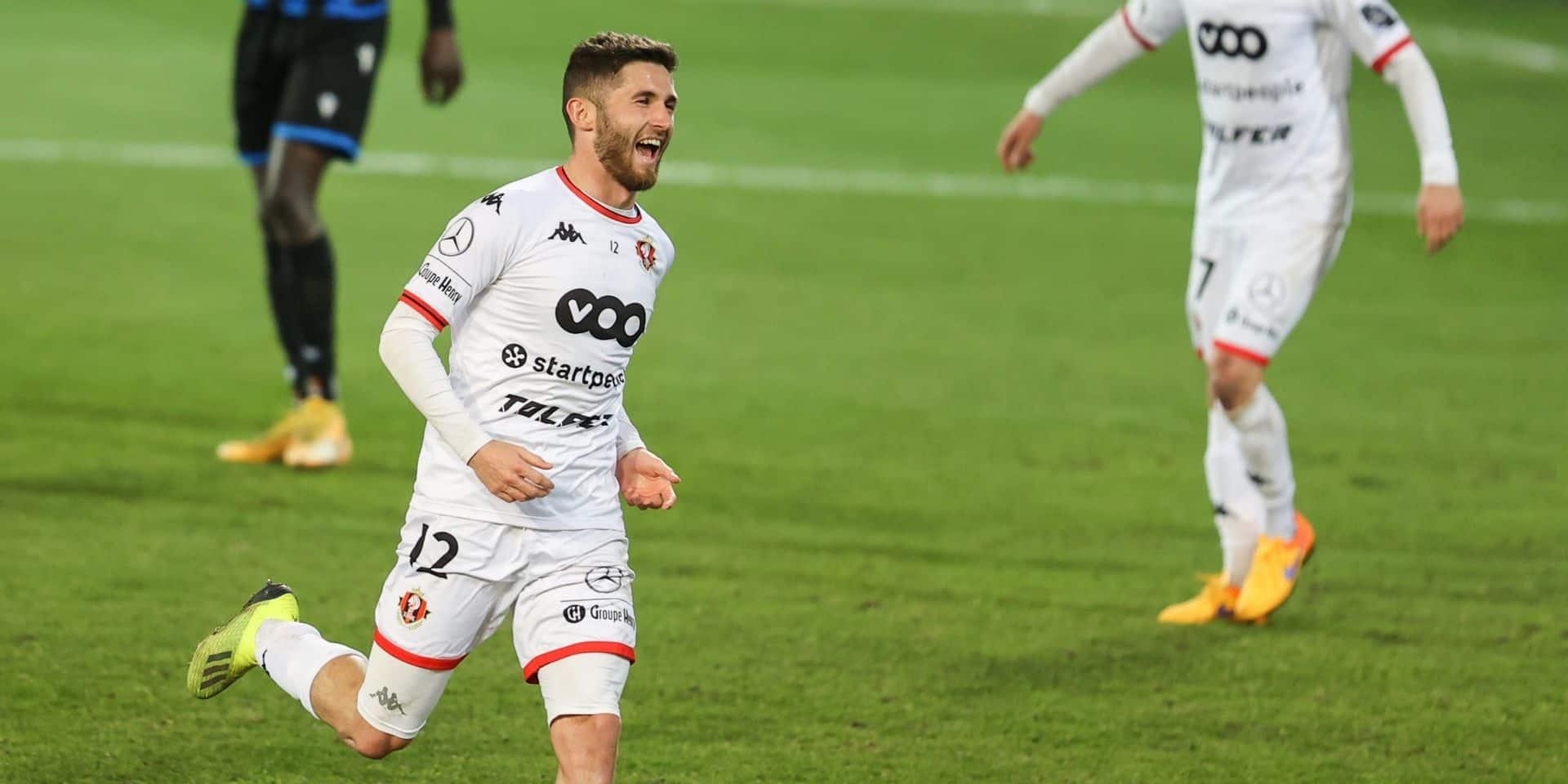 """Antoine Bernier est perfectionniste malgré la victoire de Seraing contre Bruges: """"Être plus lucide dans les 16 mètres"""""""