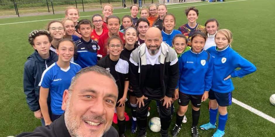 Football féminin: Gros succès pour la Girls Foot Academy