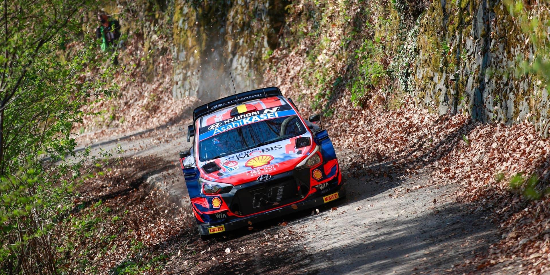 WRC Croatie: Thierry Neuville 2e de la spéciale d'essais