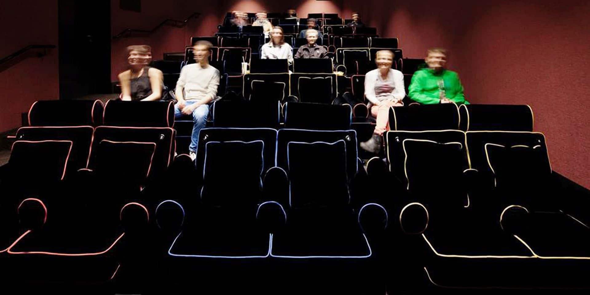 Des lits dans les salles de cinéma