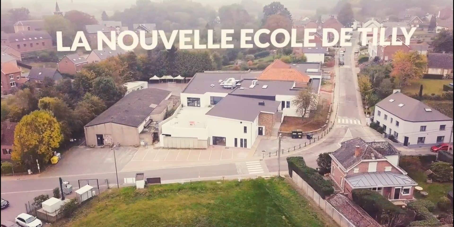Villers-la-Ville: une extension d'école inaugurée... en direct sur Facebook !