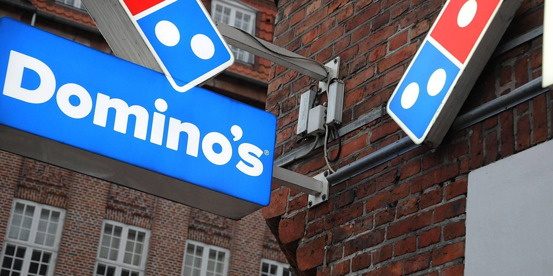 Vingt nouveaux Domino's Pizza vont ouvrir en Belgique dans les six mois