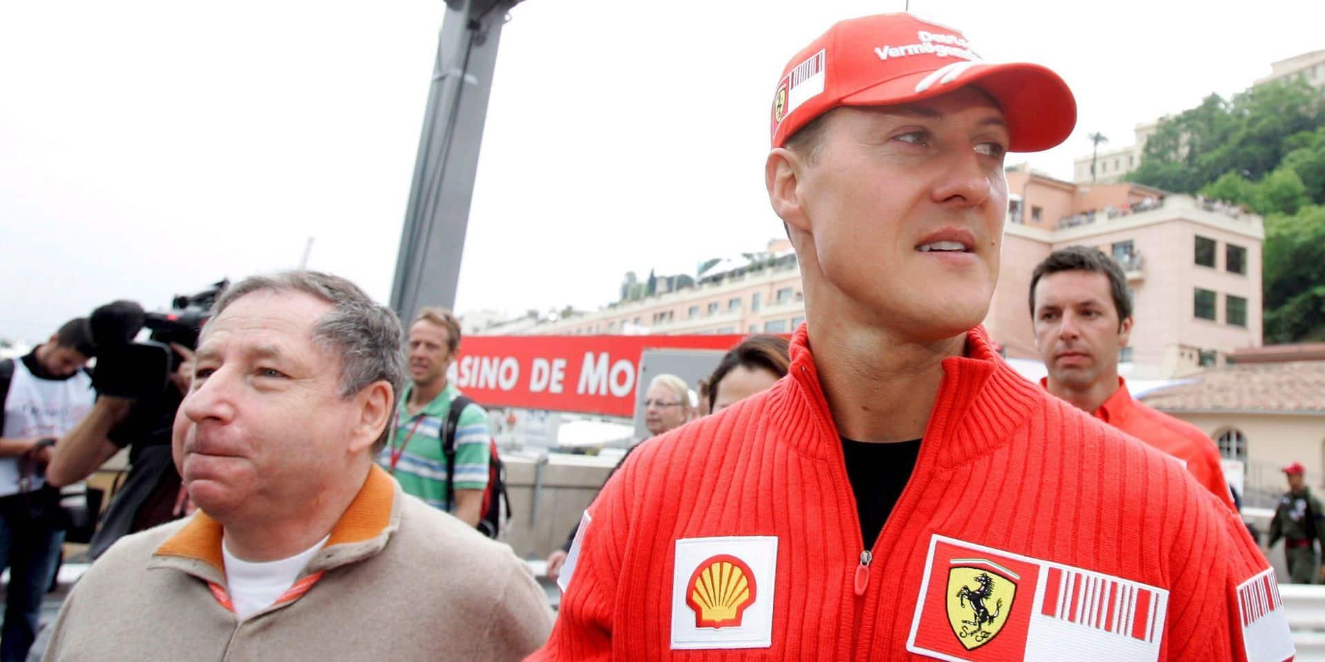 """Jean Todt : """"Michael Schumacher se bat toujours"""""""