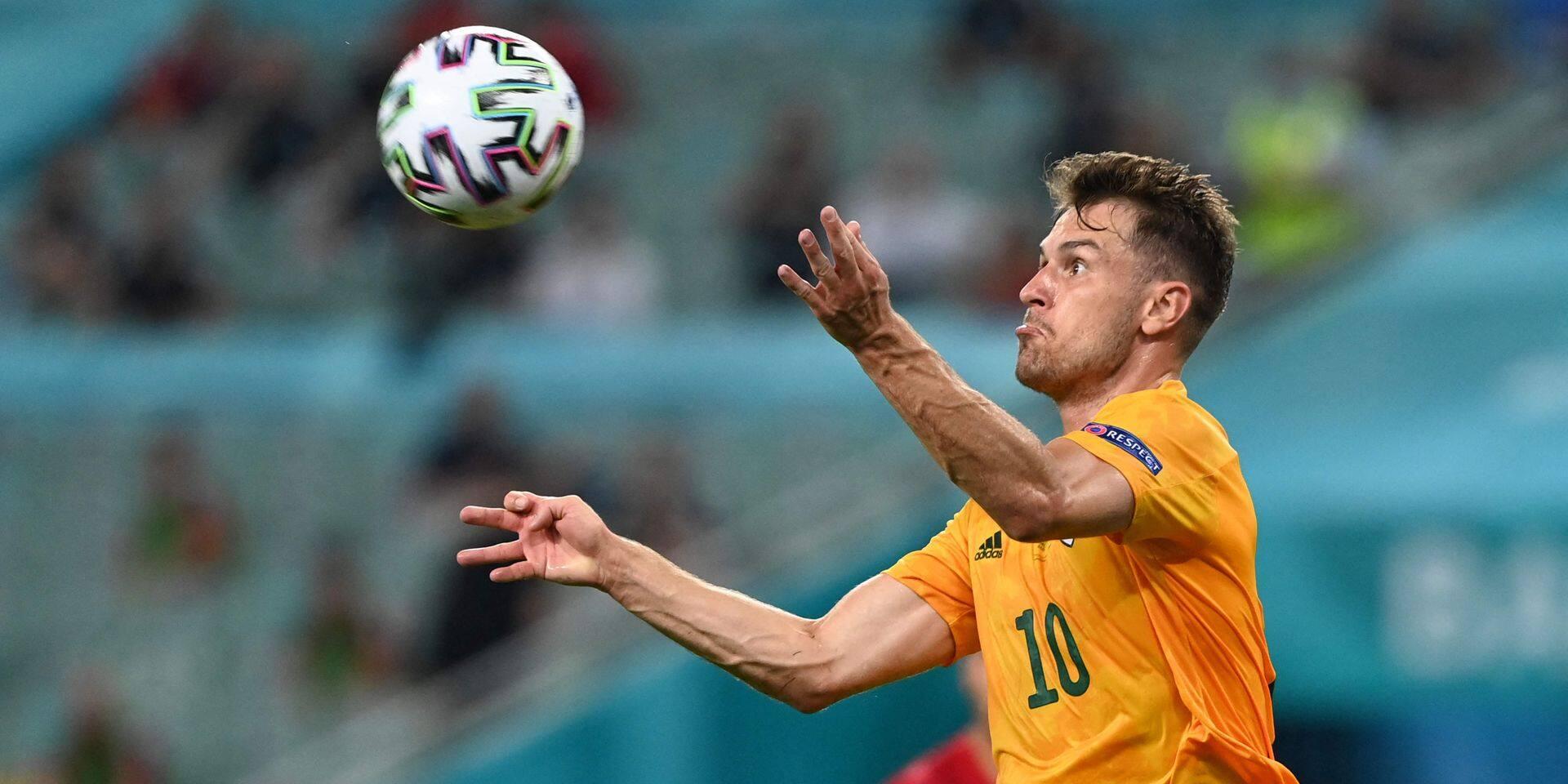 """Aaron Ramsey, l'infiltré gallois chez les Italiens: """"L'expérience qu'il a acquise en jouant dans un championnat étranger est importante"""""""