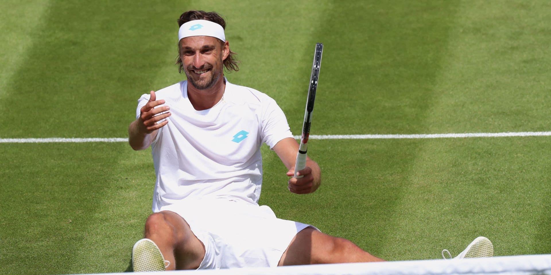 Challenger de Glasgow - Ruben Bemelmans en quarts de finale du double