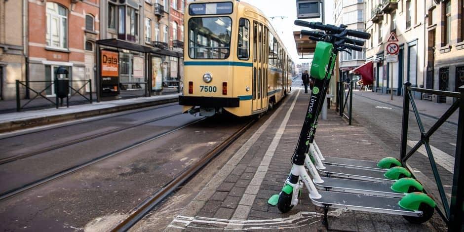 Plus de 4000 trottinettes, scooters et vélos partagés à Bruxelles
