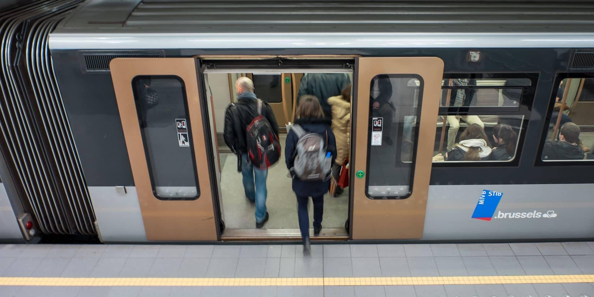 La Stib et l'Orchestre national de Belgique organisent un concert secret dans le métro