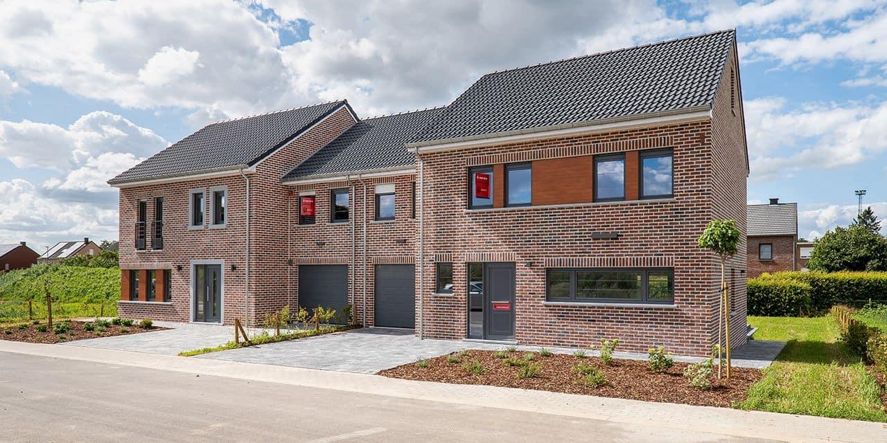 Les atouts d'une maison à vendre prête à vivre avec jardin en plein centre d'une localité comme Welkenraedt