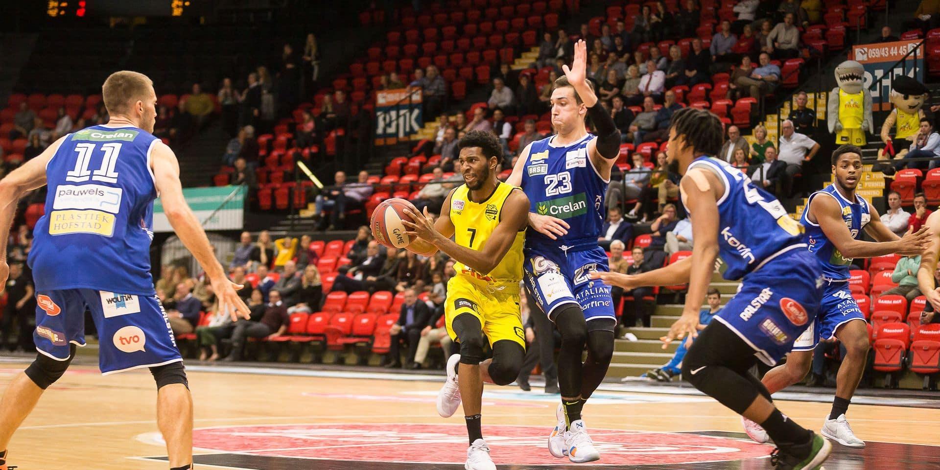 Euromillions Basket League: Ostende impose ses vues à Alost, Kangoeroes Malines va surprendre Charleroi chez lui